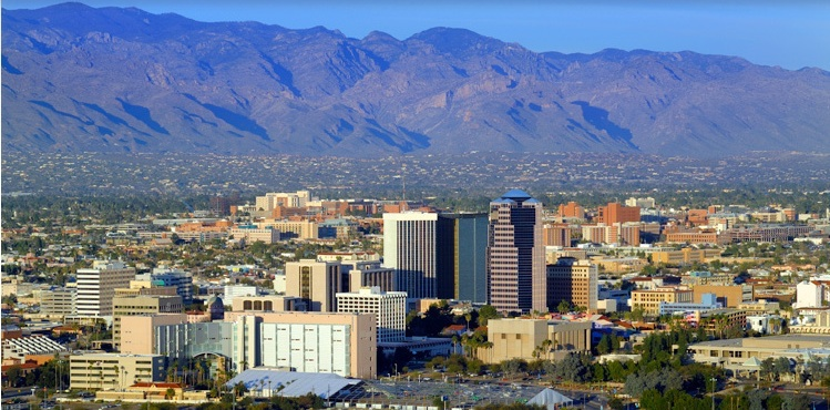 View of Downtown Tucson